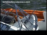 FALMOUTH, MA- Sport fishing boat sinks in Woods Hole