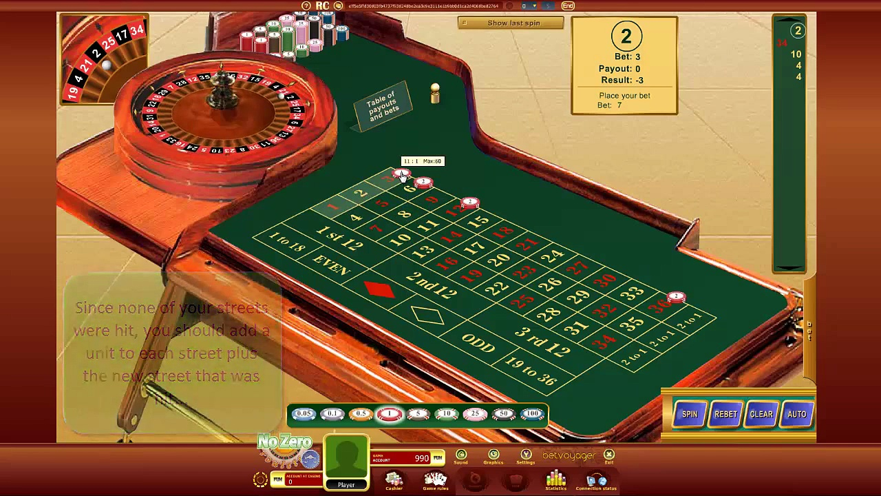 Roulette Strategy Video – Win at Online Casinos – Streets Jackpot
