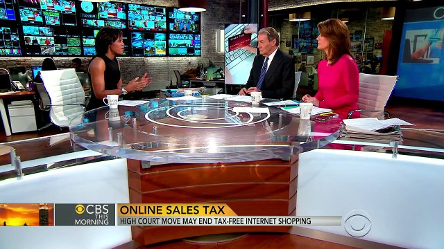 Online sales tax? Supreme Court move may end tax-free shopping