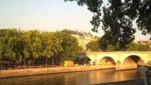 TRAVEL: Paris Plage & River Seine seen from Ile St Louis