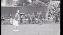 Old Hong Kong - Playing Tennis at Kowloon Cricket Club in 1932