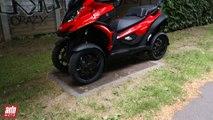 2015 Scooter 4 roues Quadro4 : essai AutoMoto