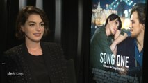 At the Movies: Anne Hathaway talks about her career as a woman in Hollywood.
