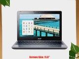 Acer 11.6 Chromebook Laptop 2GB 16GB   C720-2802