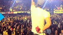 Drone Slices Enrique Iglesias During Tijuana Concert