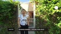 euronews reporter - Maisons à vendre ! Les banques liquident en Espagne