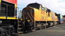 Union Pacific Freight Action at East Redondo 2/22/14