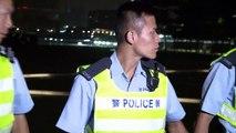 香港民主派デモ、警察とデモ隊が衝突 Hong Kong police beat back protesters in violent clashes