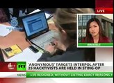 Anonymous: Interpol Site Down After Hacktivists Arrested