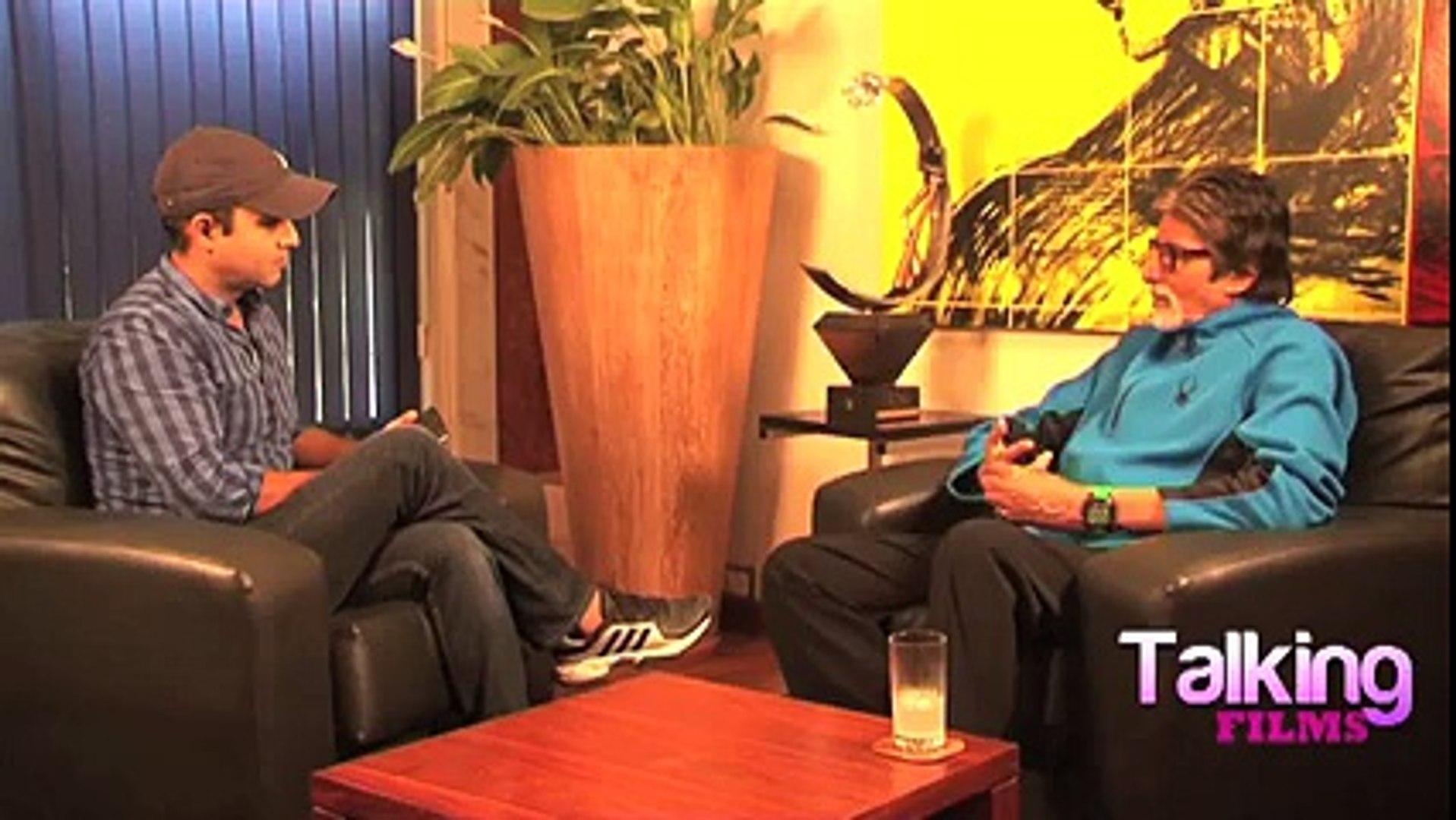 Amitabh Bachchan's Interview