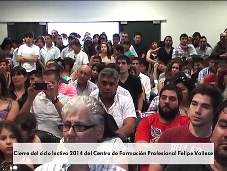 Cierre del ciclo lectivo 2014 del Centro de Formación Profesional Felipe Vallese   3 12 2014
