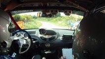 Twingo R1 rallye du Limousin 2011.mp4