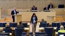 Reinfeldt ger svar på tal i frågan om förortskravallerna!