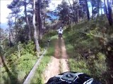 Mountain bike DH Alps South France / VTT Provence-Alpes
