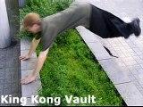 Le parkour vaults