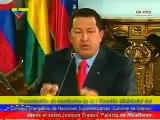 Chavez, Venezuela no se quedará de brazos cruzados