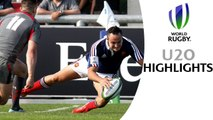 HIGHLIGHTS! France 19-10 Wales at World Rugby U20s