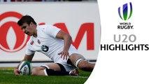 HIGHLIGHTS: England 59-7 Japan at World Rugby U20 Championship