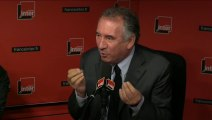 """François Bayrou : """"Le PS et le gouvernement vont à l'encontre de ce que je considère être l'intérêt national"""""""