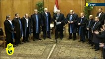 Muslim Brotherhood website alleges Egypt interim leader Adly Mansour is secretly Jewish
