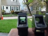 Airsoft P90 Red Dot Sight Comparison