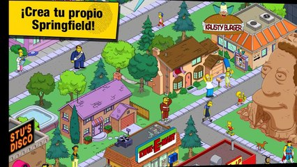 Los Simpson Springfield App Android y Apple IOS AndiPlay Store APPs