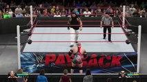 WWE 2K15- Bray Wyatt vs RyBack NO DQ Match Payback 2015 (PS4)