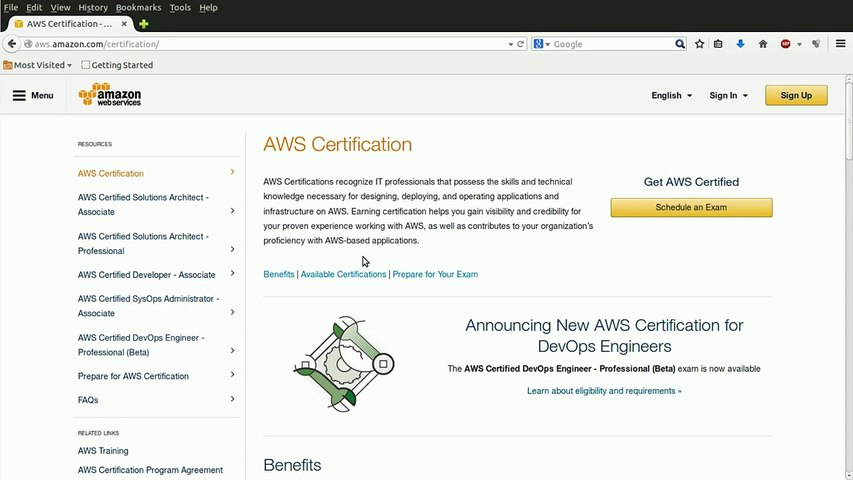 AWS Solutions Architect - Associate Level - How it works and what it is  covered