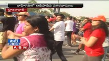Raahgiri : Hyderabad citizens actively participates in Fitness program (2-06-2015)