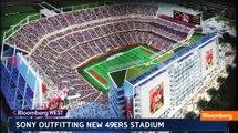 49ers Stadium: Inside Sony's High-Tech Venue