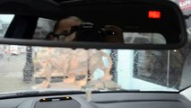 Замена датчика в переднем бампере Mercedes W210 how to