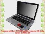 HP Envy 17t i7-4710HQ 16GB 250GB SSD Blu Ray 17.3 Windows 8.1 Laptop Computer