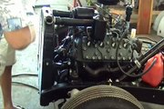 Starting the Supercharged 5hp Flathead Briggs  - video dailymotion