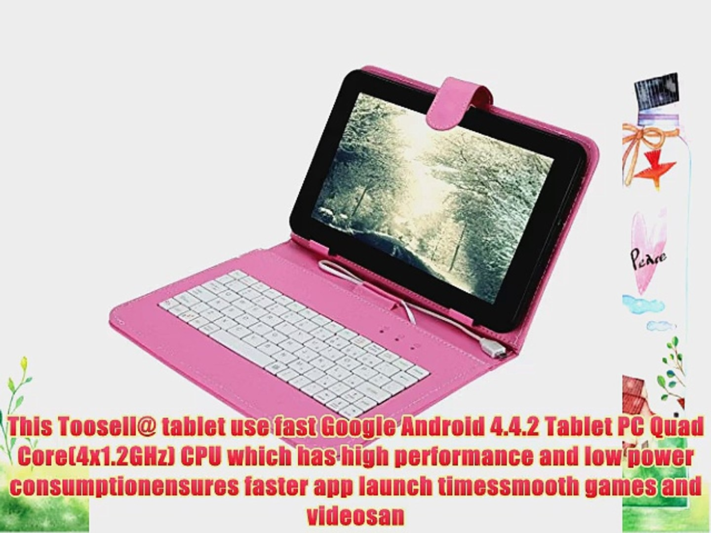 Toosell@ (NEW) 9 Quad Core Android 4 4 Kitkat Tablet Google Certified  Google Play Pre-installed
