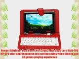 IRULU 7 Android Tablet Android 4.2 Jelly Bean OS Dual CoreDual Cameras 5 Point Capacitive Touch