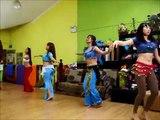 Belly Dance Class by Sophia Meng (Desert Roses Studio Singapore) 新加坡肚皮舞课程