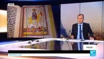 Sauvés des griffes de l'EI, de rares manuscrits irakiens exposés à Paris
