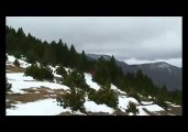 Rando dans le Massif du Canigou : rando hivernale en raquettes à neige
