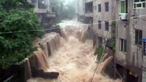 Heavy Rains cause Flooding and Landslide in Southwest China