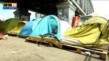 Paris: 350 migrants évacués d'un campement et conduits dans des lieux sécurisés