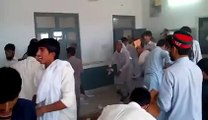 PTI worker's destroying a polling station, Video from inside the Polling station : LG Elections KPK