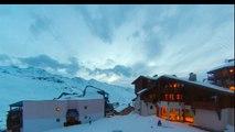2014-02 - Snowboard freeride @ Val Thorens - GoPro Hero 3 - Jeremy Jones Flagship 161 board
