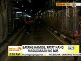 'Batang hamog' patay sa hit-and-run