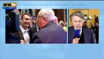 """Jean-Marie Le Pen conteste sa suspension du FN: """"un jusqu'au-boutiste"""", juge Collard"""