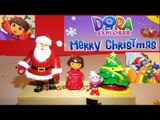 Dora The Explorer , Merry Christmas Dora and Friends, with  Boots, Swiper , and Grumpy Old Troll