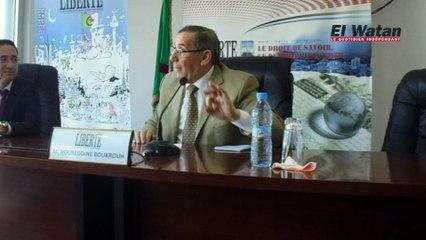 Noureddine Boukrouh livre ses « ultimes vérités avant d'entrer dans un asile de fous ».