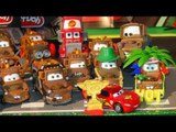 Disney Pixar Cars2 , Race Team Mater and Lightning McQueen from Pixar Cars Piston Cup Champion