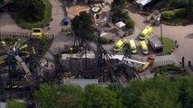 Alton Towers rollercoaster crash aftermath