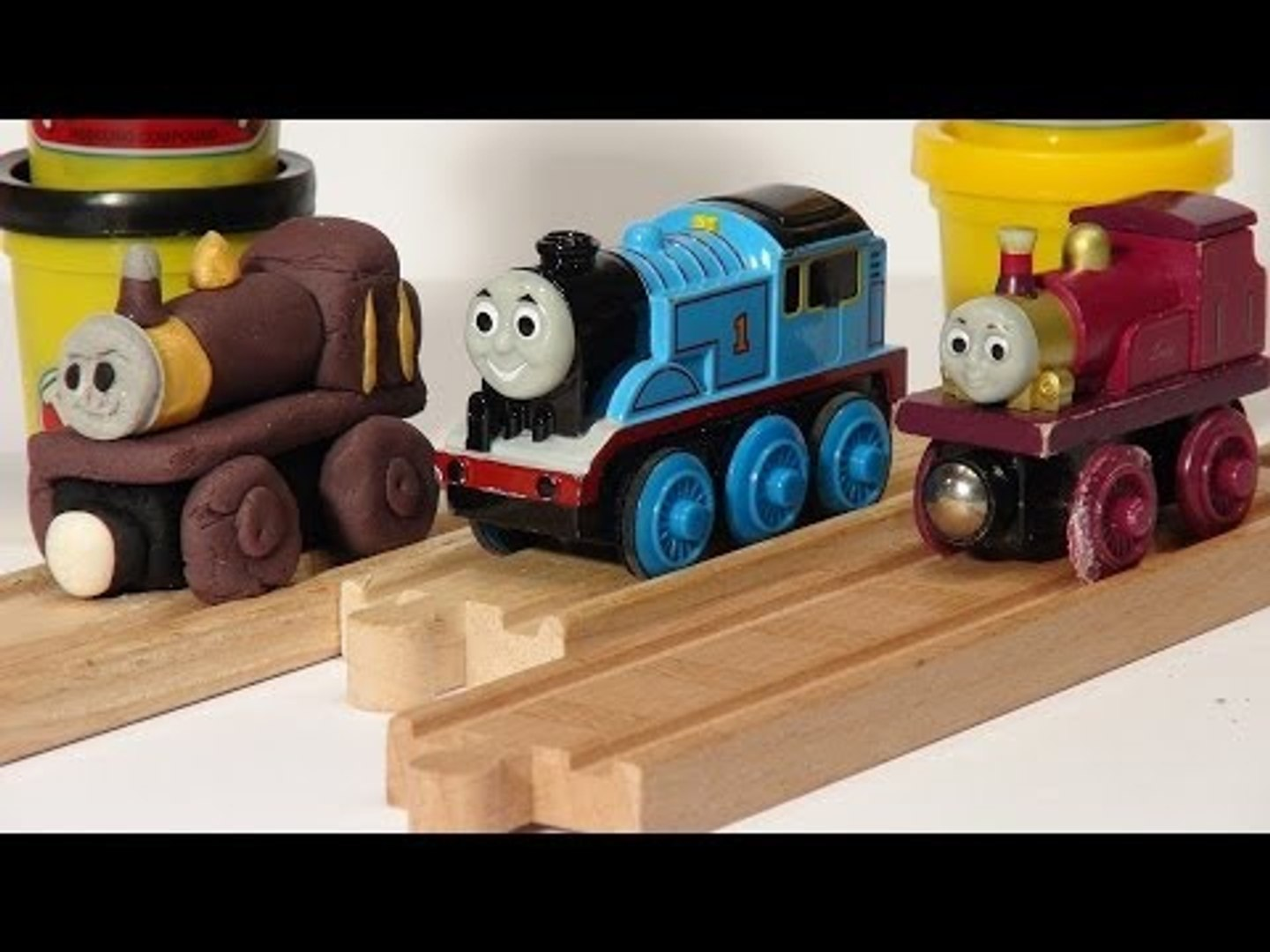 Play Doh Thomas and Friends we make Lady from Play Doh, Lady from the Magic Railway