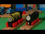 Play Doh Thomas and Friends, Thomas finds Hiro of the Rails we make him out of Play Doh
